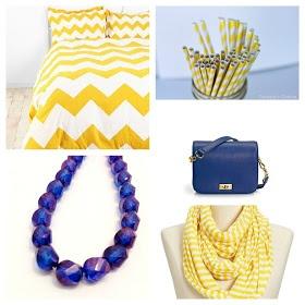 #1 Monaco Blue and #9 Lemon Zest