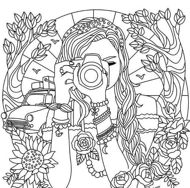 Free Printable Coloring Pages For Teenage Girl Printable ...