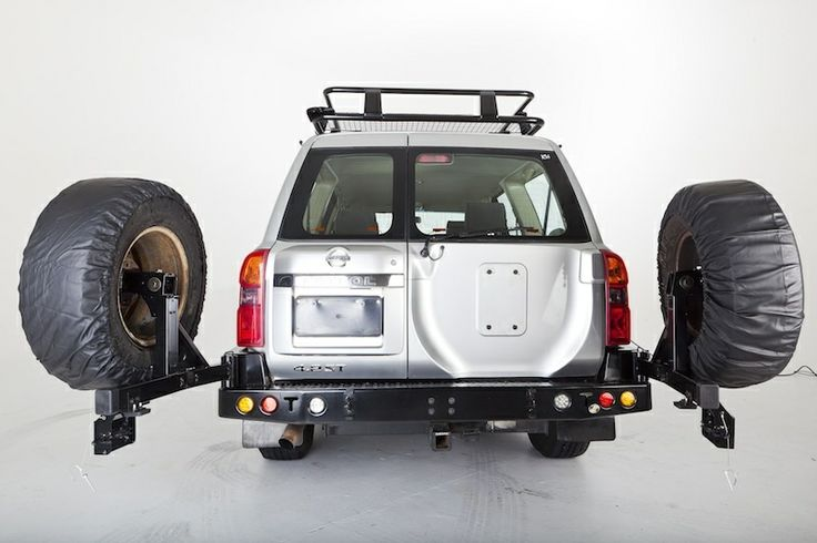 Wheel Carrier - Nissan Patrol GU (2004-2012) - Powerful 4x4 Pty Ltd Store