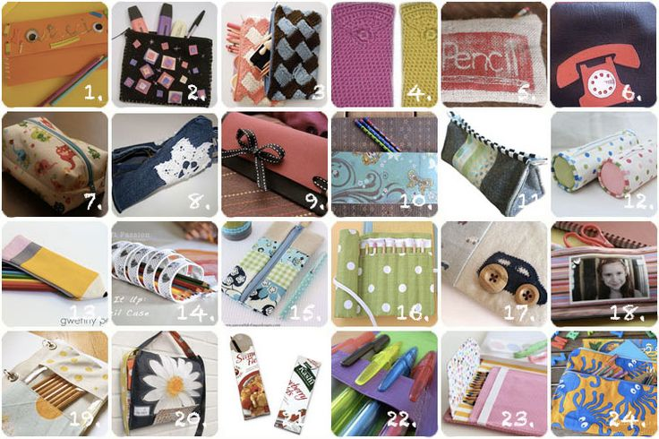 Craft ideas for pencil case. Lavoretti creativi: più di 20 suggerimenti per l'astuccio fai da teIdeas For, Crafts Ideas, Collage Astuccio, Craft, L Astuccio Fai, Pencil Cases, Craft Ideas, Lavoretti Creativi, Sewing Creativos