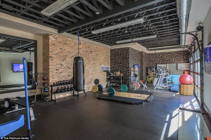 Spieth can hone his fitness in the comfort of his own home with this fully-equipped gym...