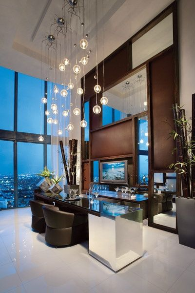 Browse our high end contemporary design portfolio for project galleries and luxury interior design packages available to clients of interiors by steven g