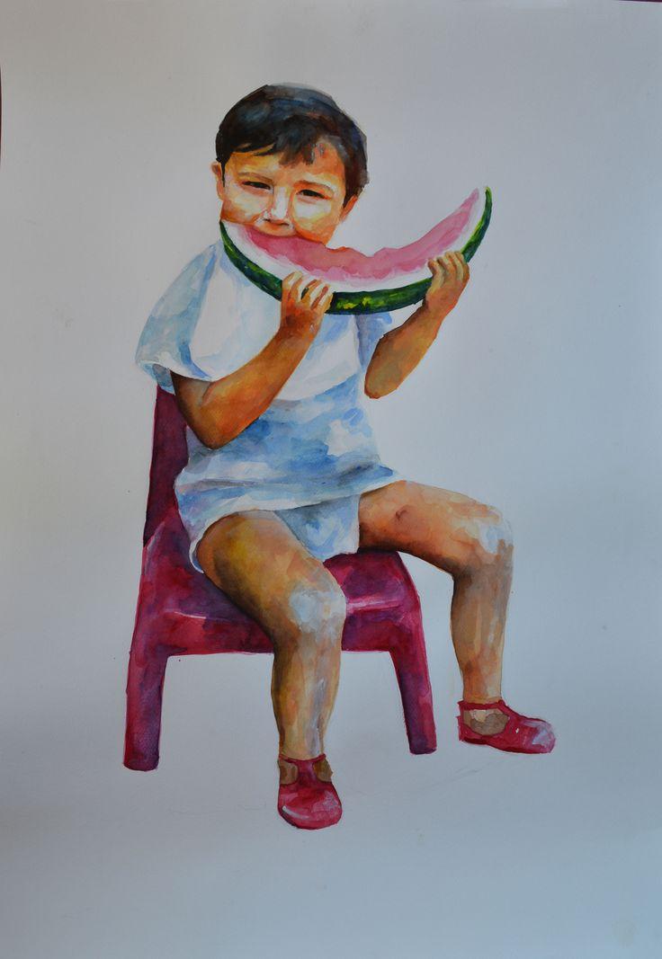 Vasiliki Dimtsiou  watercolor