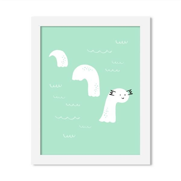 loch ness - 8 x 10 print - JustGreet