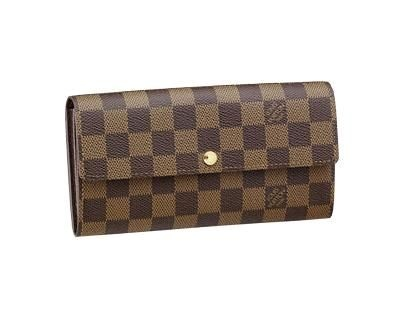 LV Damier Canvas Sarah Wallet www.lvstyles-show.at.nr/   $129.9!!!Biggest sale of the season. Louis Vuitton Artsy MM Brown Totes! Save up to 80% off