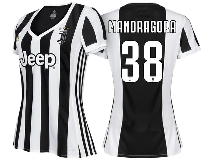 Women Juventus Home Kit 17-18 rolando mandragora