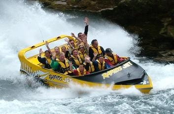 Taupo Activity - Rapids Jet Rapid Rush Family Package - 2 Adults & 2 Kids only $270 #grabit