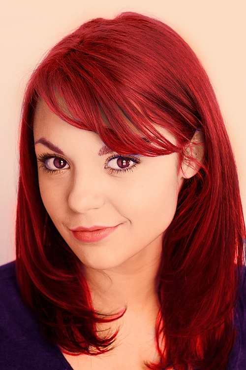 This hair colour is amazing! Kathryn Prescott is amazing ;)