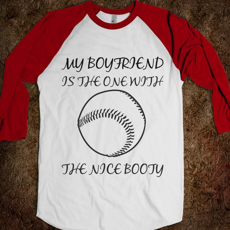 Baseball girlfriend tee @Elizabeth Lockhart Lockhart Lockhart Lockhart Carstens. So cute!