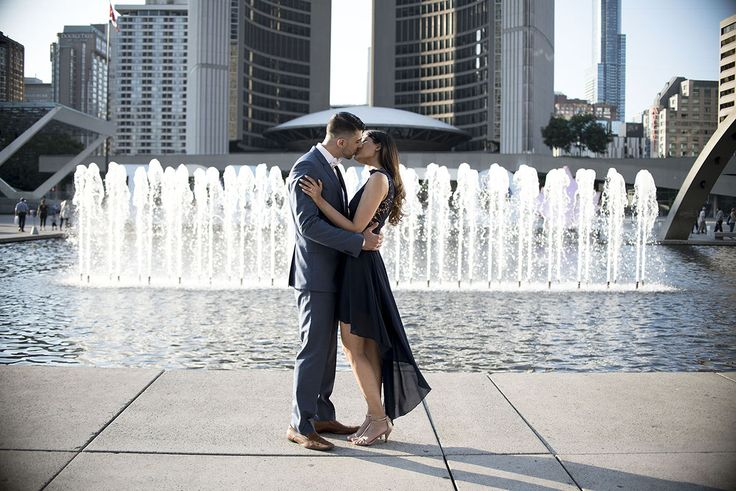Downtown Toronto, city hall, Engagement Session, Toronto Wedding Photograhper, Engagement photography,  –