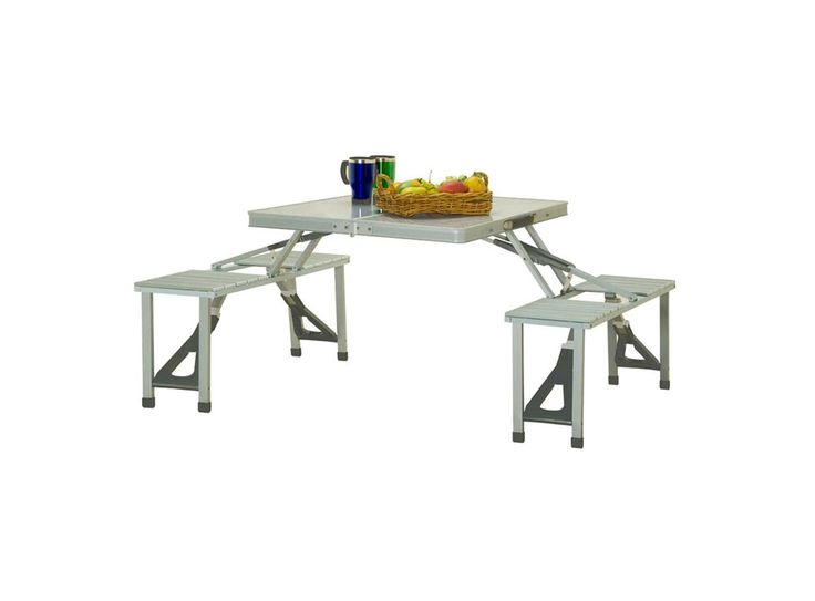 Outdoor Connection Aluminium Picnic Table
