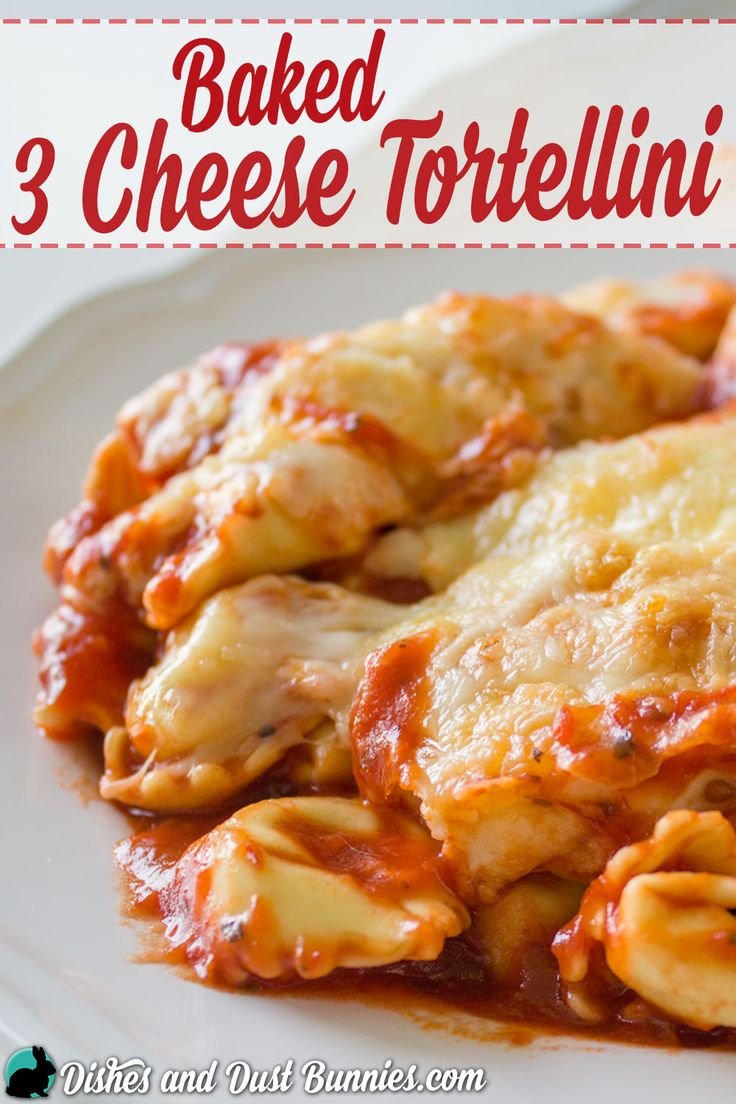 Baked 3 Cheese Tortellini - So Easy and Perfect for Busy Days!