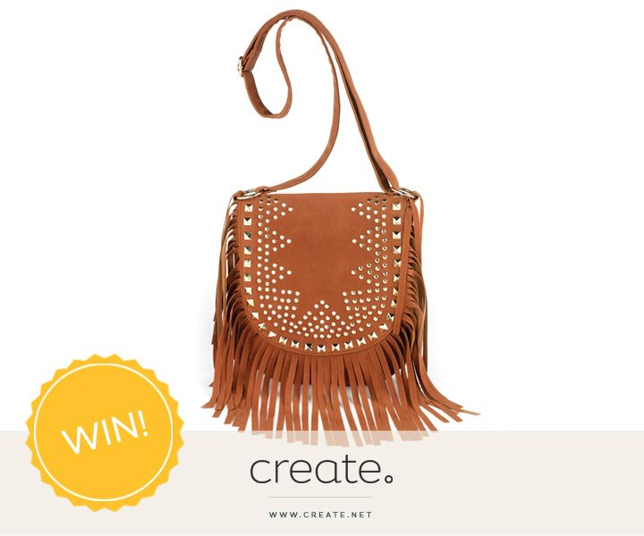 Happy New Year! Start 2016 right with our first #FreebieFriday of the year. Enter now & WIN this amazing brown studded tassel bag from the amazing La Mac. Simply comment on the Facebook post to be in with a chance!