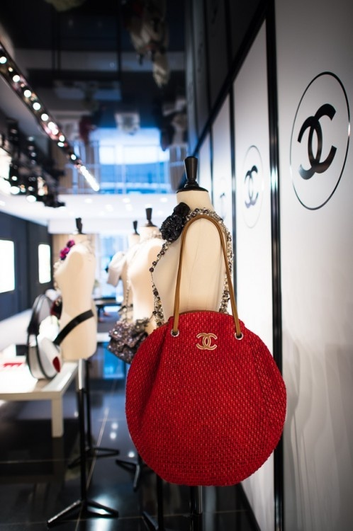 Red Chanel Bags and Accessories for Spring 2013