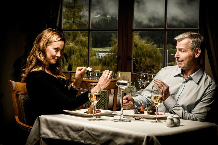 ein gemütliches #Abendessen zu zweit #tirol #candlelightdinner
