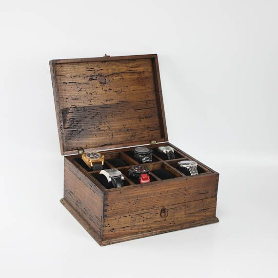 Watch Box for Men Watch Box Watch Case Men's Watch Box