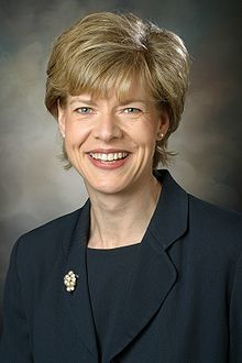 Tammy Green Baldwin (b. 1962); first woman elected to the Senate from Wisconsin; first openly gay person elected to the Senate.