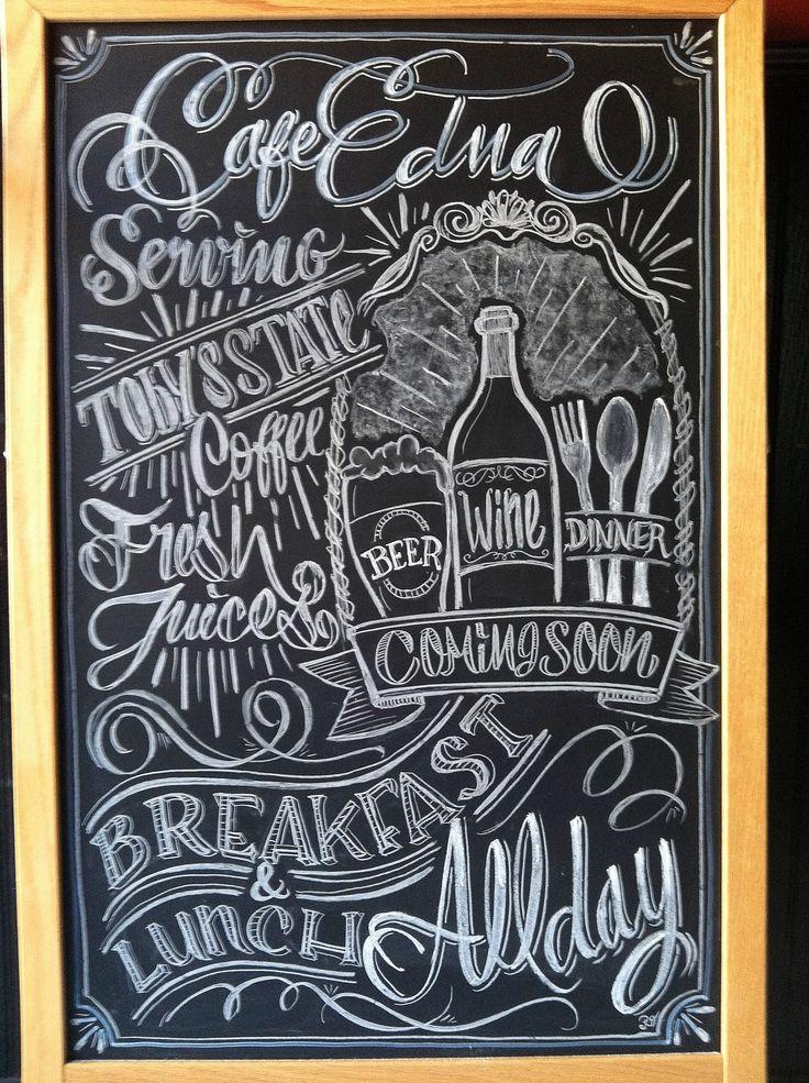33 best Restaurant Chalk Art images on Pinterest