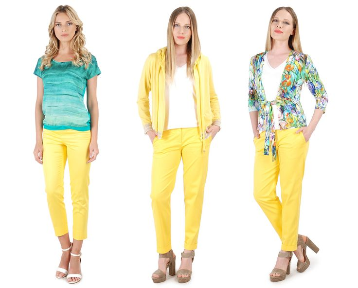 Beautiful sunny yellow in relaxed day outfits SUMMER17 | YOKKO #yellow #casual #dayoutfits #summer17 #women #fashion #style #life #yokko #pants #blouses #jackets #tops