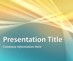 Abstract Curves 4 PowerPoint Template is another generic PPT template slide design with abstract colors and slide template that you can download to make PowerPoint presentations for any generic topic