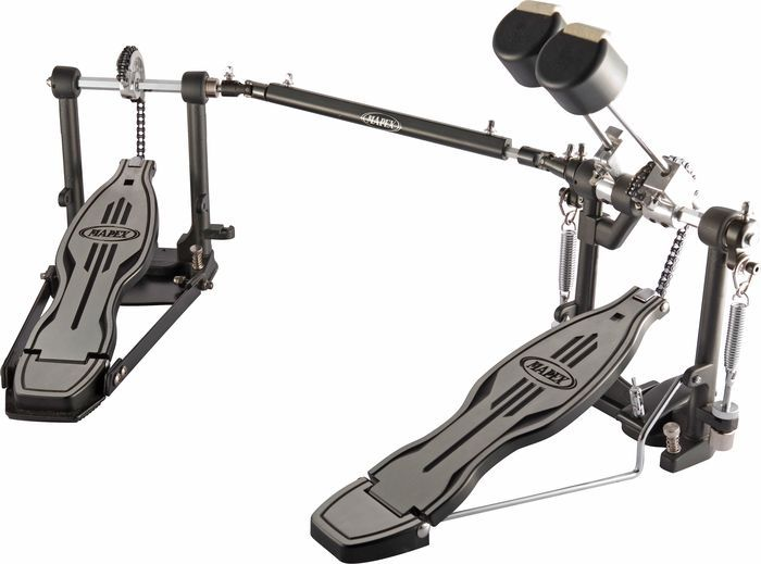 Mapex500 Double Bass Drum Pedal - I already have a pretty heavy drumming style, but I haven't played with double pedal yet.