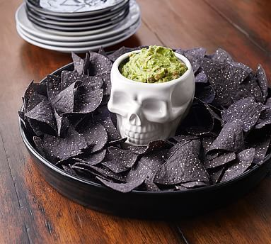 Pottery Barn Skull Chip and Dip / DIY Inspiration!