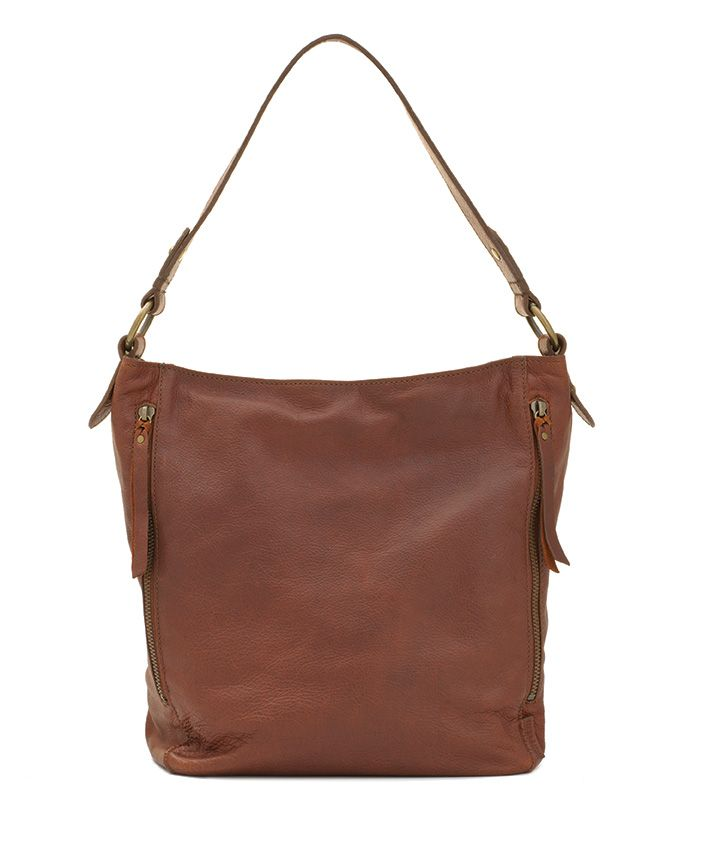 Real Leather Tote - available at Mat & May