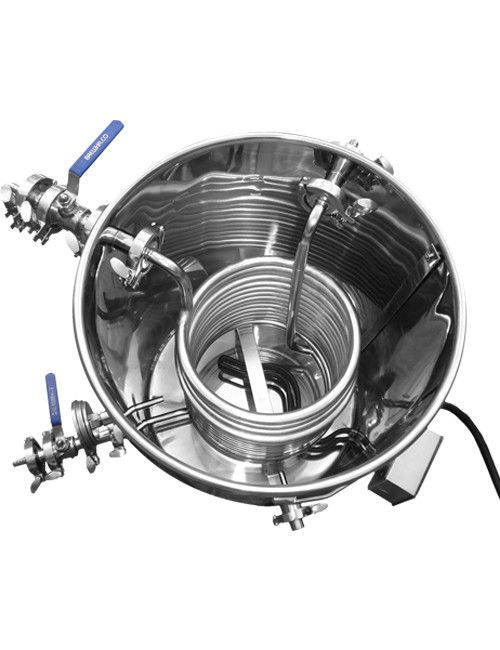 BREWHA Equipment Co.   For the love of brewing - Stainless steel hot liquor kettle or hot water tank.