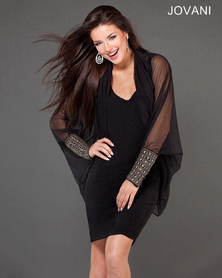 Jovani Black Party Dress 73454 Lbd Fashion Little