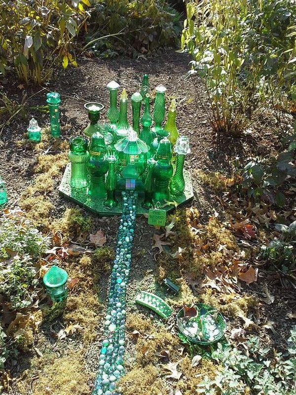 Garden Ideas Diy diy garden idea with old piano 35 Awesome Diy Fairy Garden Ideas Tutorials