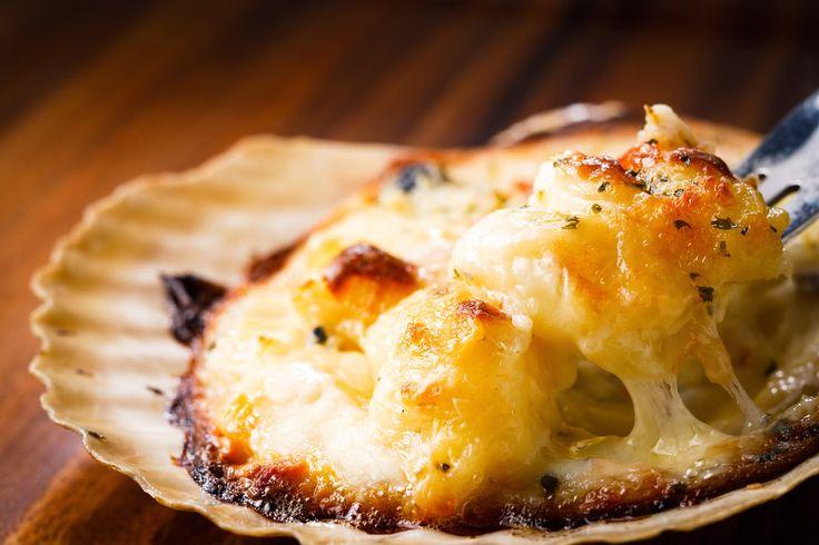 Food Recipes Ideas: Scallop Gratin