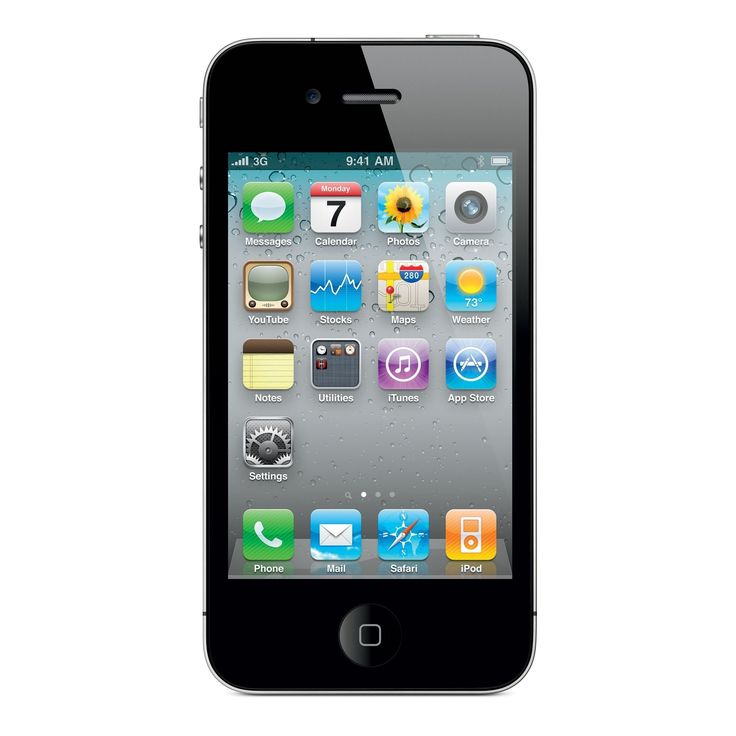 Apple iPhone 4 8GB Factory Unlocked GSM Cell Phone -