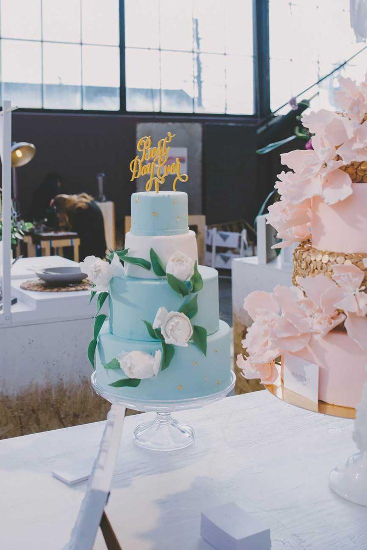 Kleurrijke taarten van Majesteit Taart. //Foto: Anouk Fotografeert.