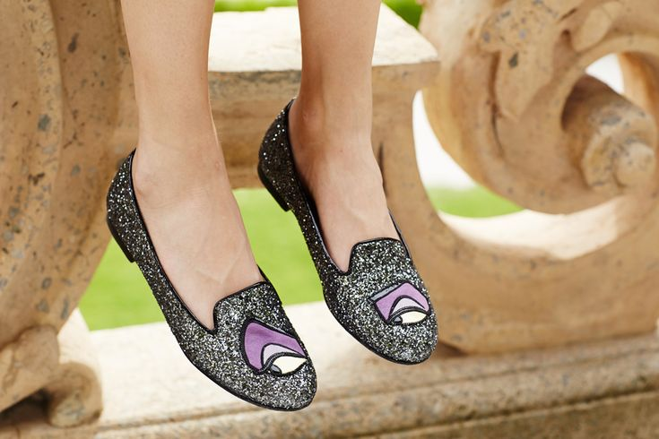 Maleficent slippers