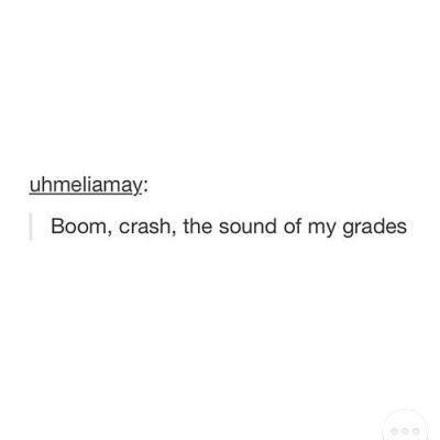 My math grades
