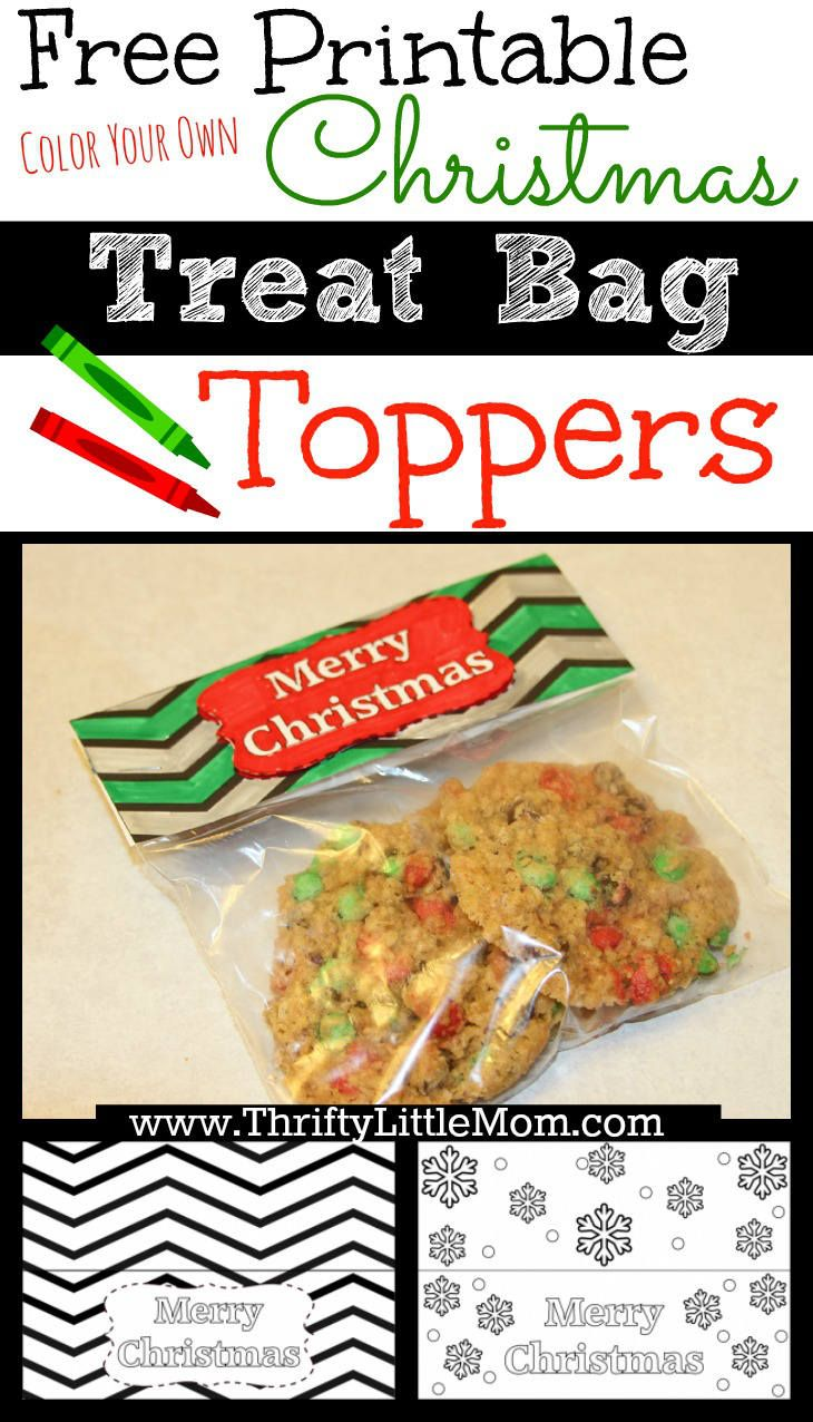 25+ best ideas about Christmas treat bags on Pinterest ...