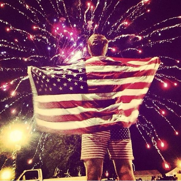 this is actually the most American picture I've ever seen
