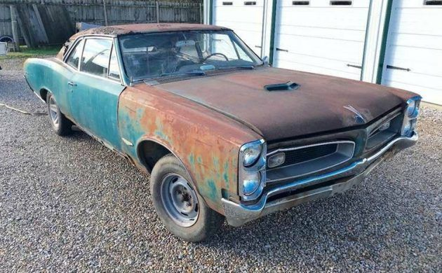 41+ 1965 pontiac gto project car for sale background