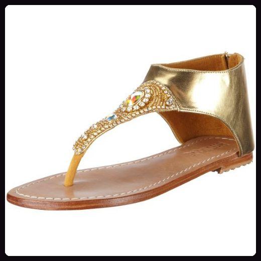 Mystique 4048, Damen, Sandalen/Fashion-Sandalen, Gold  (gold ab), EU 38  (US 7) - Sandalen für frauen (*Partner-Link)
