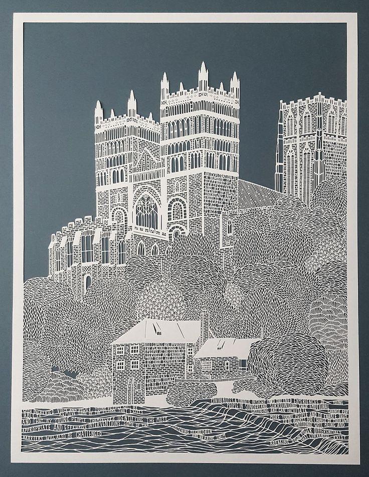 Superb Cut Paper Artworks by Pippa Dyrlaga | Colossal