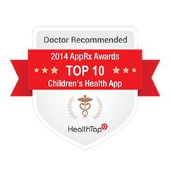 The Wonder Weeks App Recommended by Doctors - Health Tap Doctor Recommended award for The Wonder Weeks