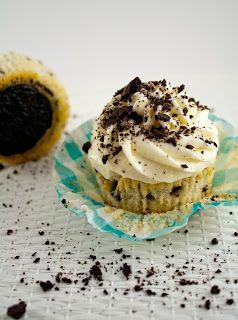 Cupcakes aux Oreo - J'amène Le Dessert