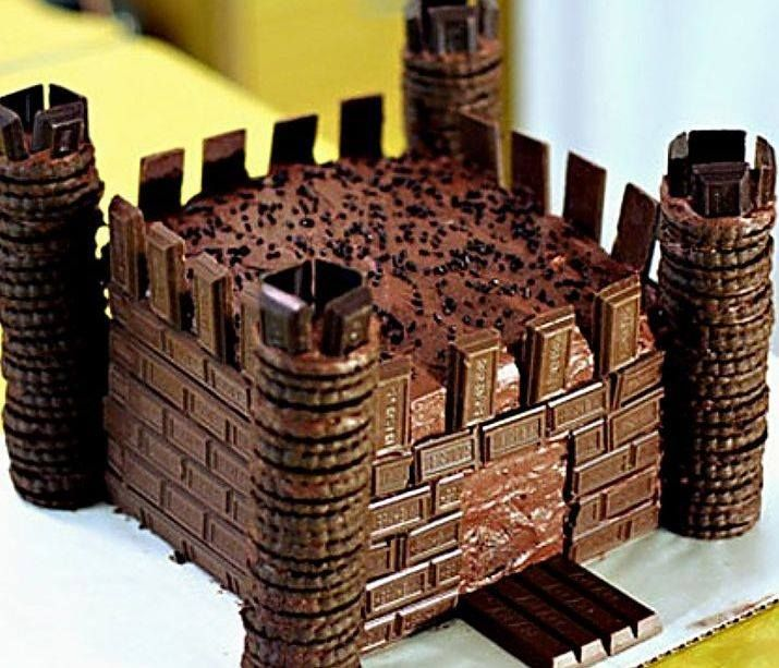 If Andrew wants a castle cake.