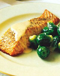 Salmon with Gravlax Sauce   Dill and salmon are both best with a flavorful wine with lots of acidity. Try a sauvignon blanc (such as Sancerre) or chenin blanc (such as Vouvray) from France's Loire Valley.