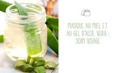 DIY Masque à l'aloe vera et au miel