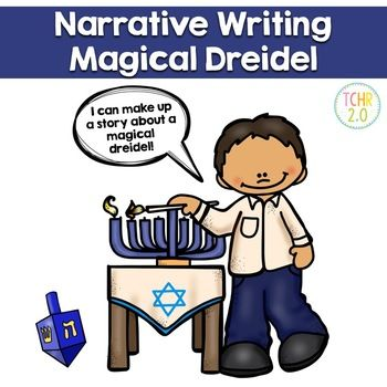 In this narrative writing unit you are playing dreidel with a friend and the dreidel becomes magical! Your students must write a story about what happens next. A fun writing assignment to do during the Hanukkah season. Pages included: Direction sheet Graphic organizer