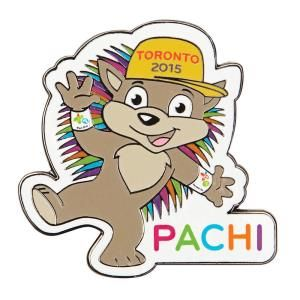 Are you ready for the Games in #Toronto?1?! PACHI is the official mascot, we can't wait to meet him!