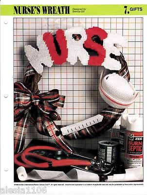 NURSE WREATH- I wanna make this for the awesome nurses in my life!