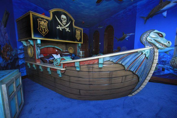 Letto Castello Nave Pirata