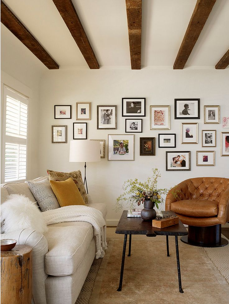 Benjamin Moore // White Dove // Jute Interior Design via Houzz